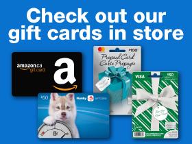 Gift Cards | myHusky ca